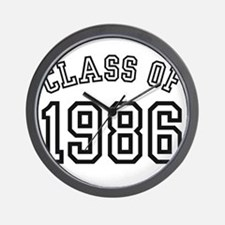Class of 1986 Wall Clock