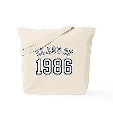 Class of 1986 Tote Bag