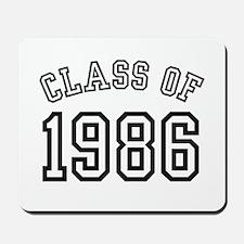 Class of 1986 Mousepad