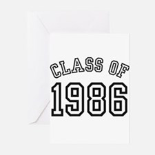 Class of 1986 Greeting Cards (Pk of 10)