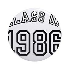 Class of 1986 Ornament (Round)