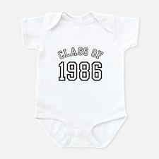 Class of 1986 Infant Bodysuit