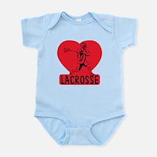 Love Lacrosse Infant Bodysuit