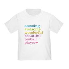 Pinball Player T-Shirt