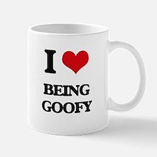 I Love Being Goofy Mugs