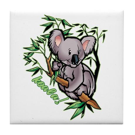 Koala! Bear Tile Coaster