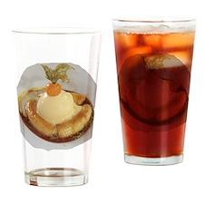 Banana Icecream Drinking Glass