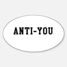 Anti-You Decal