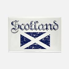 Scottish Flag Rectangle Magnet