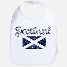 Scottish Flag Bib