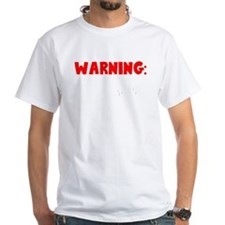 Warning: If Zombies Are Chasing Us, I'm Tr T-Shirt