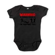 Warning: If Zombies Are Chasing Us, Baby Bodysuit