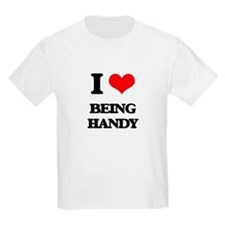 I Love Being Handy T-Shirt