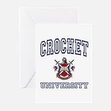 CROCHET University Greeting Cards (Pk of 10)