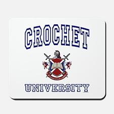 CROCHET University Mousepad