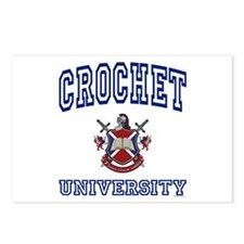 CROCHET University Postcards (Package of 8)