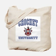 CROCHET University Tote Bag