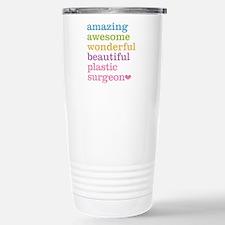 Plastic Surgeon Stainless Steel Travel Mug