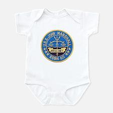 USS JOHN MARSHALL Infant Bodysuit
