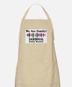 SANDOVAL reunion (we are fami BBQ Apron