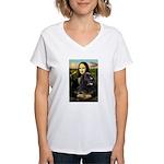 Newfoundland /Mona Women's V-Neck T-Shirt