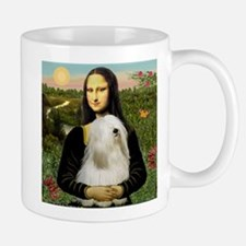 Mona Lisa (new) & Tibetan Terrier Mug