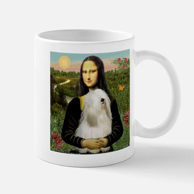 Mona Lisa (new) & Tibetan Terrier Mug