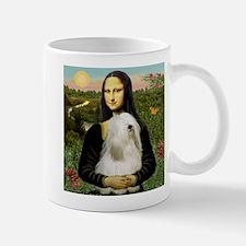 Mona Lisa (new) & Tibetan Terrier Small Small Mug