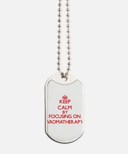 Keep Calm by focusing on Aromatherapy Dog Tags