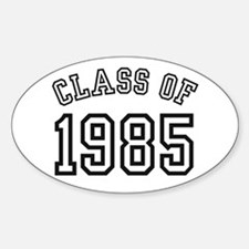 Class of 1985 Oval Decal