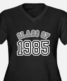Class of 1985 Women's Plus Size V-Neck Dark T-Shir