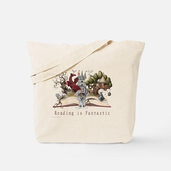 Reading is Fantastic II Tote Bag