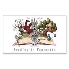 Reading is Fantastic II Decal