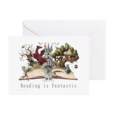 Reading is Fantastic II Greeting Cards (Pk of 10)