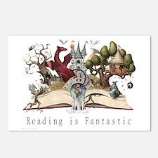 Reading is Fantastic II Postcards (Package of 8)