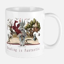 Reading is Fantastic II Small Small Mug