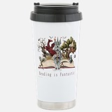 Reading is Fantastic II Stainless Steel Travel Mug