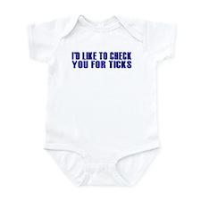 Ticks Infant Bodysuit