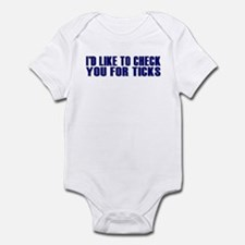 Ticks Infant Bodysuit