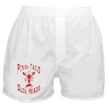 Pinch Tails Crawfish Boxer Shorts