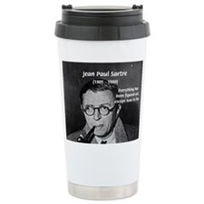 Cute Sartre Travel Mug