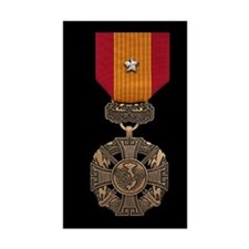 Vietnam Gallantry Cross Medal Decal