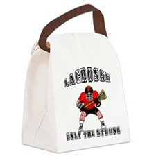lacross5.png Canvas Lunch Bag