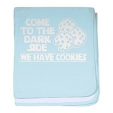 Come To The Dark Side (We Have Cookie baby blanket