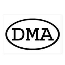 DMA Oval Postcards (Package of 8)