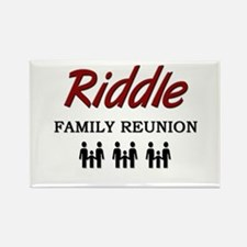 Riddle Family Reunion Rectangle Magnet