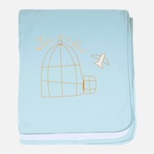 Free As A Bird baby blanket