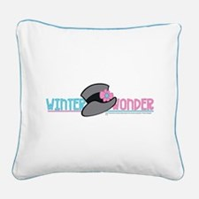 Winter Wonder Square Canvas Pillow