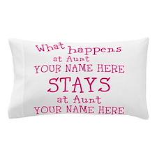 Aunts House Pillow Case