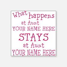 Aunts House Sticker